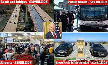 Biden unveils his sweeping 'physical' infrastructure plan