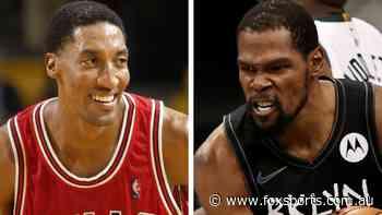 Kevin Durant fires back after Scottie Pippen's blunt take on Nets superstar