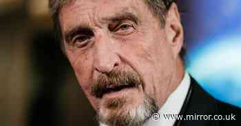 John McAfee tweeted 'if I die like Epstein, I didn't do it' before his death