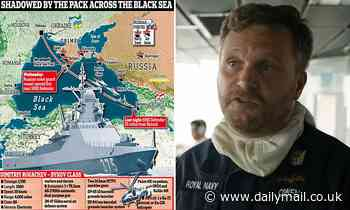 'I will do anything to protect my crew,' captain of HMS Defender warns the Kremlin