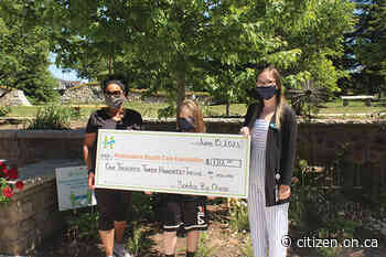 Local youth makes sizeable donation to Headwaters - Orangeville Citizen