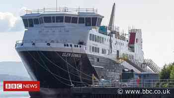Delivery date for overdue ferries slips again