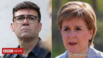 Covid: Greater Manchester-Scotland travel ban row deepens