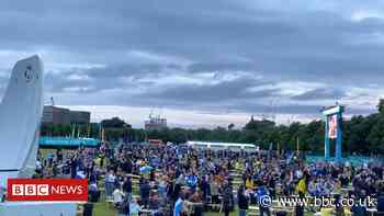 Euro 2020: Tartan Army rally to cheer Scotland despite defeat