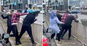Shocking footage shows brutal 'road rage' brawl on Coventry Road in Sheldon - Birmingham Live