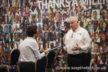 CELEBRATION EVENT MARKS 10 YEAR ANNIVERSARY OF COVENTRY FOODBANK - Keep the Faith ®