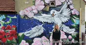 Look: New mural unveiled in Coventry Peace Orchard - Coventry Live