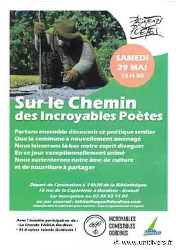 """Printemps des Poètes : """"Sur le chemin des Incroyables Poètes"""" dordives - Unidivers.fr - Unidivers"""