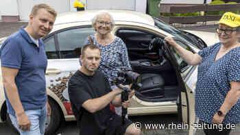 Dreharbeiten in der VG Hachenburg: Seniorentaxi ist jetzt filmreif - Rhein-Zeitung