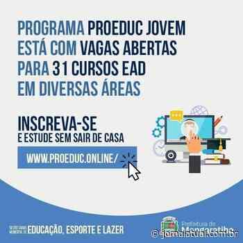 Mais de 30 cursos gratuitos oferecidos em Mangaratiba - Jornal Atual