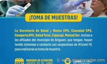 En Ariguaní realizarán jornada de muestras Covid19 - Opinion Caribe
