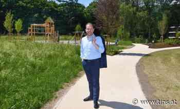 Neue Parkanlage in Dornach ist fertiggestellt - Tips - Total Regional
