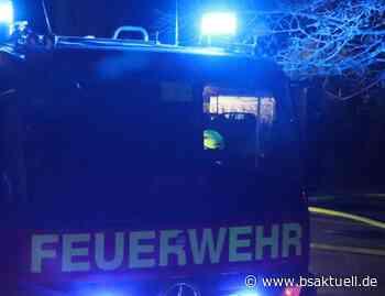 Jettingen-Scheppach: Papiercontainer brennt nieder - BSAktuell