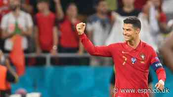 Euro 2020 Group-Stage Best XI: Ronaldo, De Bruyne up front, Bonucci in defence