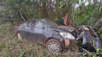 Motorista sobrevive a capotamento na BR- 174 em Pontes e Lacerda – TV Centro Oeste - Tv Centro Oeste