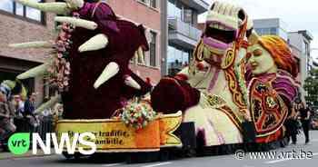 """Traditionele Bloemencorso van Sint-Gillis bij Dendermonde gaat door: """"Gelukkig kunnen we bloembollen van vorig jaar recupereren"""" - VRT NWS"""