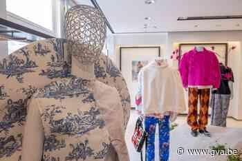 Collecties van Antwerpse modestudenten hangen dit weekend in etalages - Gazet van Antwerpen