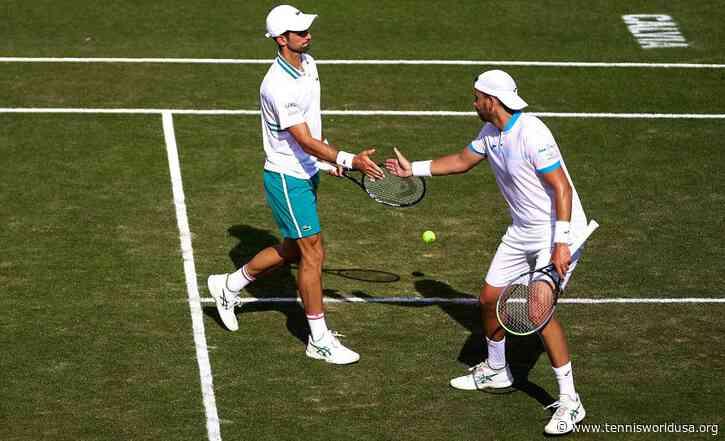 Novak Djokovic: I don't think we expected to reach Mallorca doubles final