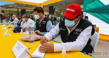 Gobierno retoma mesa de diálogo y alcanza acuerdos en Candarave - Diario Gestión