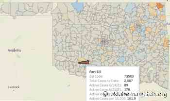 Oklahoma Sees Early Summer Spike In Coronavirus Cases - Oklahoma Watch