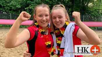 Duo des VT Südharz feiert in Bad Laer den Titelgewinn - HarzKurier