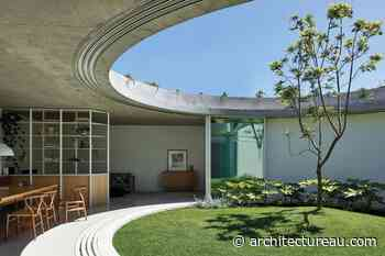 Living in the round: Elwood Bungalow