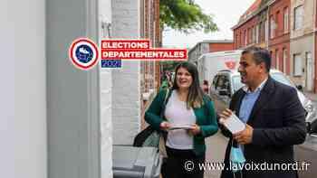 Élections départementales: à Tourcoing, opération Remontada pour le duo Katy Vuylsteker/Ali Laazaoui - La Voix du Nord