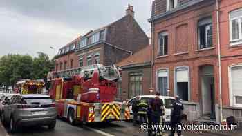 Une famille relogée après l'incendie de sa maison, à Tourcoing - La Voix du Nord