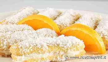 Pavesini con crema al mascarpone arancia e cocco   pronti in 10 minuti - RicettaSprint