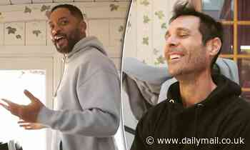 Will Smith mistakes the word 'niggle' for a racial slur during workout with Australian trainer
