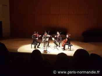 Le Quatuor Elmire à Barentin pour les Musicales de Normandie - Paris-Normandie