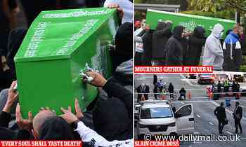 Meaning behind message painted on Bilal Hamze's coffin after he was gunned down in Circular Quay