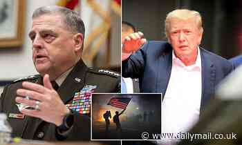 Top US general rejected Trump's push for the military to 'crack skulls' during civil rights protests