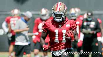 SI lists 49ers WR Brandon Aiyuk among potential first-time Pro Bowl selections in 2021