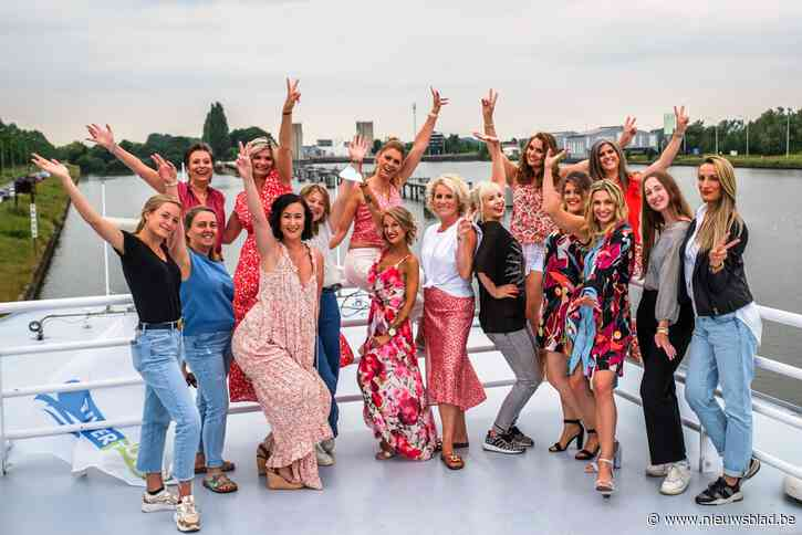 Mels Angels showen nieuwe collectie op boot