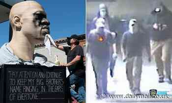 NYC George Floyd statue vandalized by white supremacists less than a week after it was unveiled
