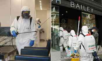 Joh Bailey's Covid-19 cleaners reveal exposure sites are not required to be professionally cleaned
