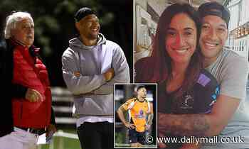 Former NRL star Israel Folau close to rugby league return with Southport Tigers on the Gold Coast