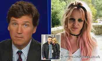 Tucker Carlson demands Britney Spears is freed from her conservatorship
