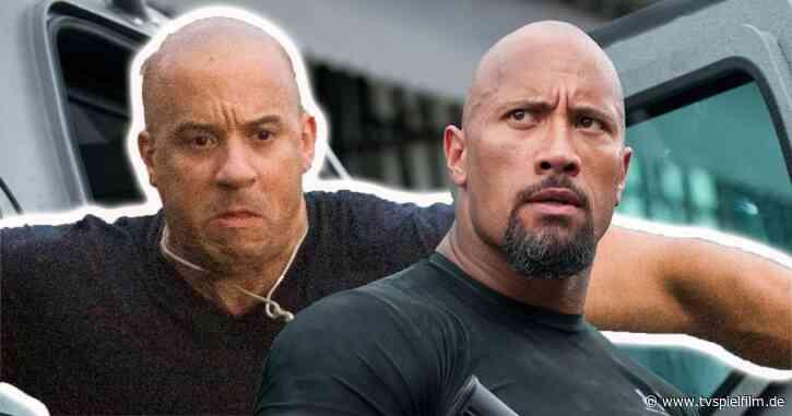 Fast & Furious: Vin Diesel erklärt Streit mit Dwayne Johnson - TV Spielfilm