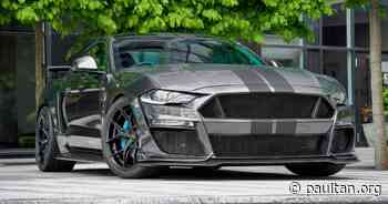 """Clive Sutton CS850GT is UK's most powerful Mustang - supercharged 5.0L V8, 859 PS and 902 Nm; 20"""" rims - paultan.org - Paul Tan's Automotive News"""