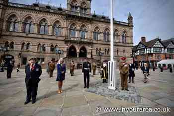 Cheshire West and Chester Council pay tribute to Armed Forces personnel - In Your Area