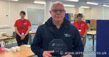 National award for  BirkenheadSixth Form College