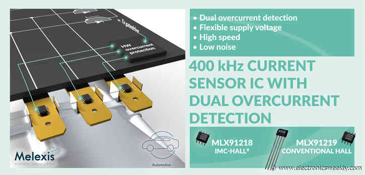 Melexis adds current sensors for auto power conversion
