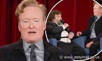 Conan O'Brien ends 28-year late night run with emotional monologue