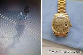 Watch worth £15,000 stolen from elderly man in Littlehampton