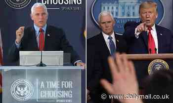 Pence departs from Trump, says he was proud to certify election results