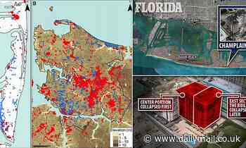 Map from report predicting condo collapse revealsother Miami Beach spots at risk of collapse