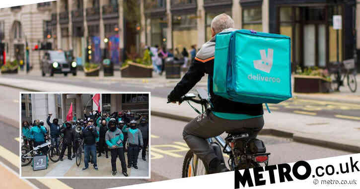Deliveroo riders are 'not workers', court rules