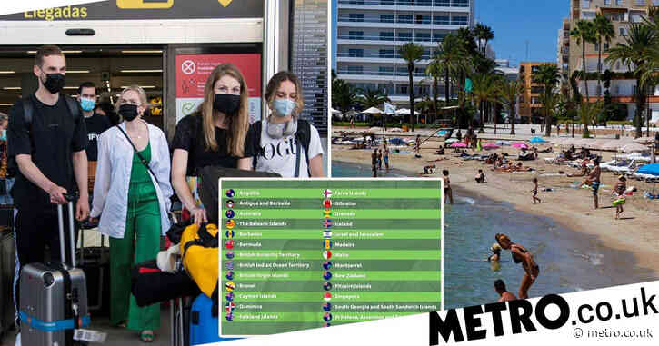 Flight prices to Ibiza and Majorca triple after green list announcement
